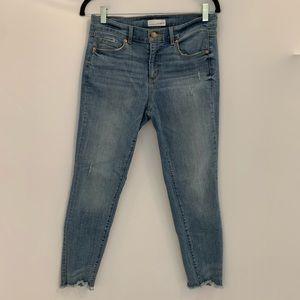 LOFT skinny ankle jeans